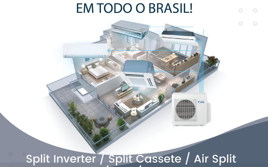Distribuidor de ar condicionado em todo o Brasil!